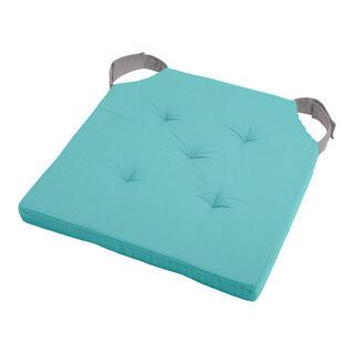 Pernuţă pentru scaun DUO UNI cu scai, albastru deschis
