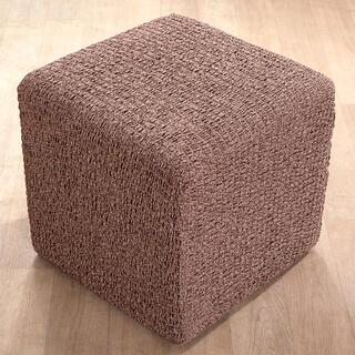 Huse bielastice MEDITERRANEO maro taburet (40 x 40 x 40 cm)