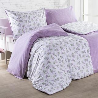 Lenjerie de pat din bumbac LILIANA violet
