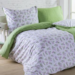 Lenjerie de pat din bumbac LILIANA verde