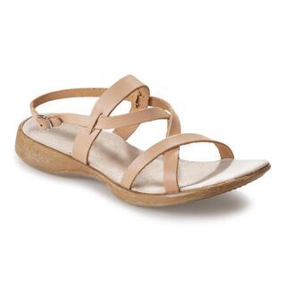 Sandale casual de damă din piele