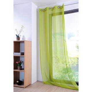 Perdea colorată MONNA verde, 135 x 260 cm