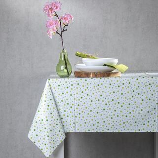 Faţă de masă lavabilă din PVC PUNCTE 130 x 180 cm, verde