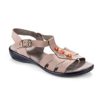 Sandale de damă cu mărgeluţe