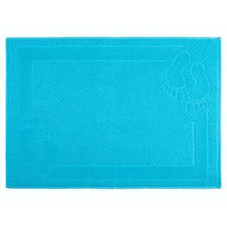 Covoraş de baie din frotir MEXICO albastru deschis, 50 x 70 cm