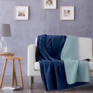 Pled NATURE albastru, 150 x 200 cm