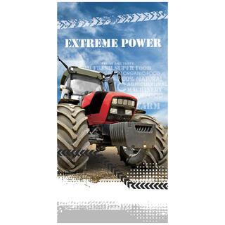 Prosop pentru copii TRACTOR EXTREME POWER 70 x 140 cm