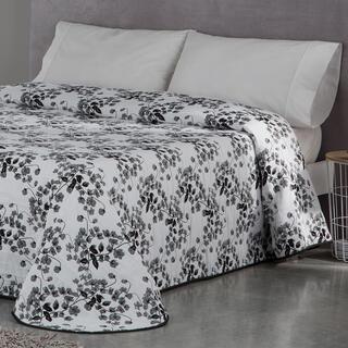Cuvertură de pat CARLOTA, gri, pat simplu