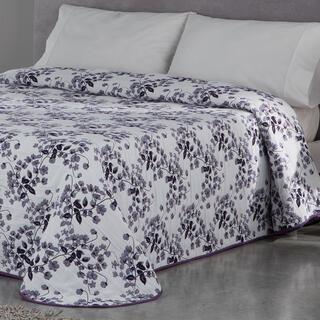 Cuvertură de pat CARLOTA, mov, pat simplu