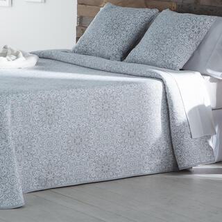 Cuvertură de pat MALENA, gri, pat simplu