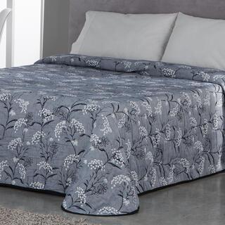 Cuvertură de pat SOCORRO, gri-albăstrui, pat simplu