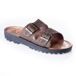 Papuci bărbăteşti clasici, maro