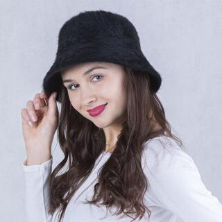 Pălărie de damă ANGORA, neagră