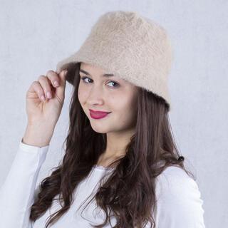 Pălărie de damă ANGORA, bej