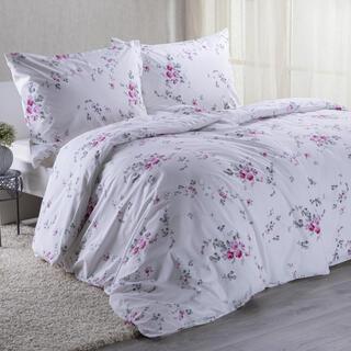 Lenjerie de pat din bumbac MIA, roz