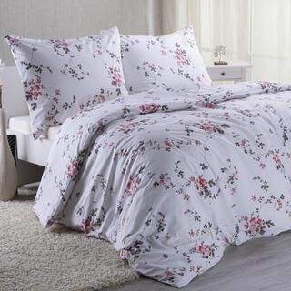 Lenjerie de pat din bumbac MIA, trandafir
