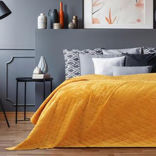 Cuvertură de pat LAILA culoarea mierii