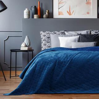 Cuvertură de pat LAILA albastru regal