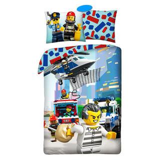 Lenjerie de pat din bumbac LEGO CITY