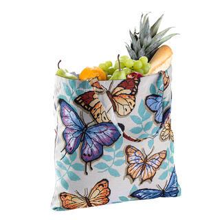 Sacoşă textilă de cumpărături FLUTURI