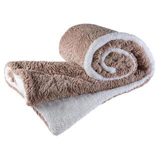 Pătură matlasată cu blăniţă SIERA 140 x 200 cm