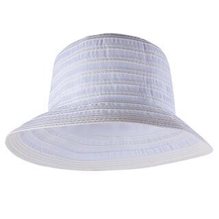 Pălărie de vară albă, de damă