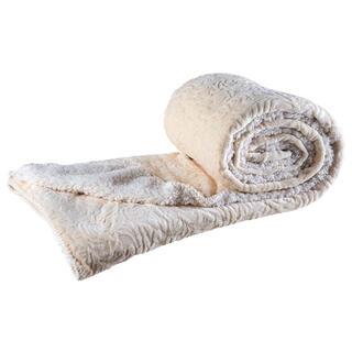 Pătură cu blăniţă din microfibră cu ornamente 150 x 200 cm