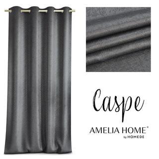 Draperie BLACKOUT CASPE antracit, 140 x 250 cm