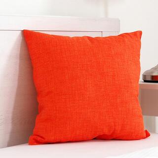 Pernuţă decorativă BESSY 45 x 45 cm portocalie
