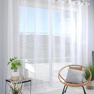 Perdea din voal pentru ferestre mari DESIGN XXL 290 x 260 cm