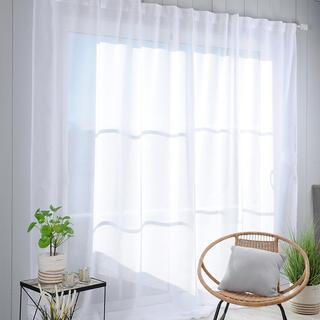 Perdea din voal pentru ferestre mari MADRID XXL 290 x 260 cm