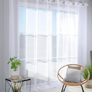 Perdea din voal pentru ferestre mari MONNA XXL 300 x 280 cm