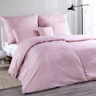 Lenjerie de combinat din bumbac, PUNCTE, roz