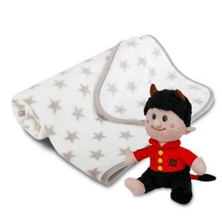 Pătură cu jucărie de pluş DRĂCUŞOR