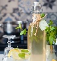 Sirop de mentă pentru limonade de vară